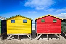 Muizenberg Beach Huts III