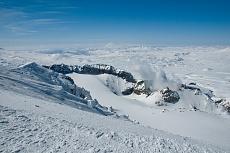 Vulkan Mutnovski Geysire