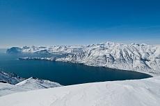 Skiabfahrt Vilyuchinsky Vulkan