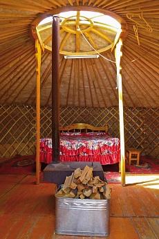 Jurtencamp bei Tsenkher