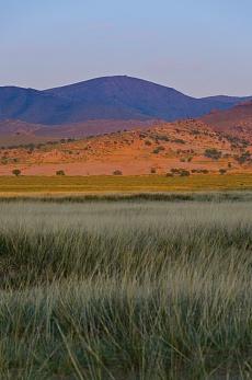 Camp in der Steppenlandschaft von Gurvanbulag