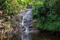 Mahé Sauzier Wasserfall in Port Glaud