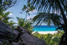 La Digue Wanderung von der Gand Anse zur Anse Cocos