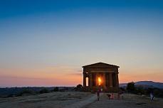 Sonnenaufgang Blick auf Panarea