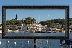 Kuestenstadt Grimstad, Hafen