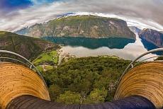 Aussichtspunkt Stegastein Aurlandsfjord