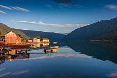 Sogndal Sognefjord Solvorn Lusterfjord