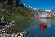 Gletscherzunge des Jostedalsbreen Nigardsbreen