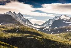 Bergwelt des Jotunheimen-Nationalparks Koryen