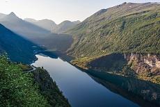 Fjellnorwegen Geirangerfjord Geiranger
