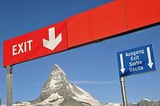 Blick vom Riffelberg auf das Matterhorn