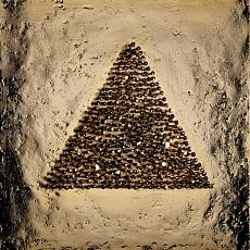 Dreieck mit Köpfen