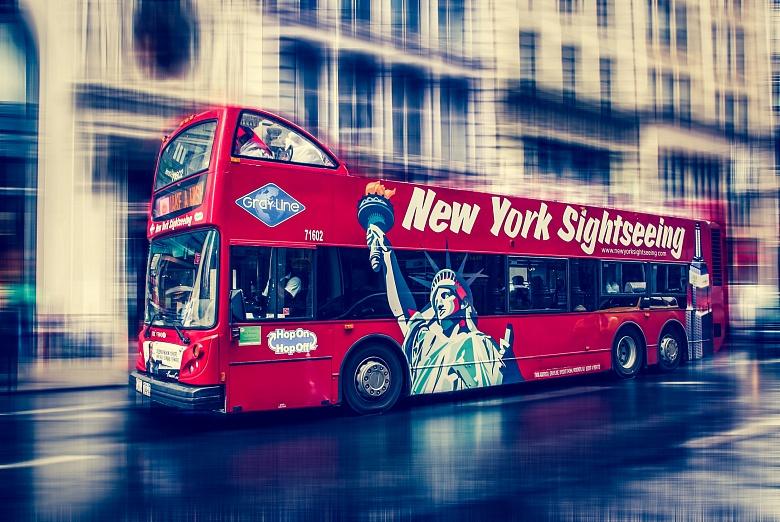 Hop on hop off  through NYC