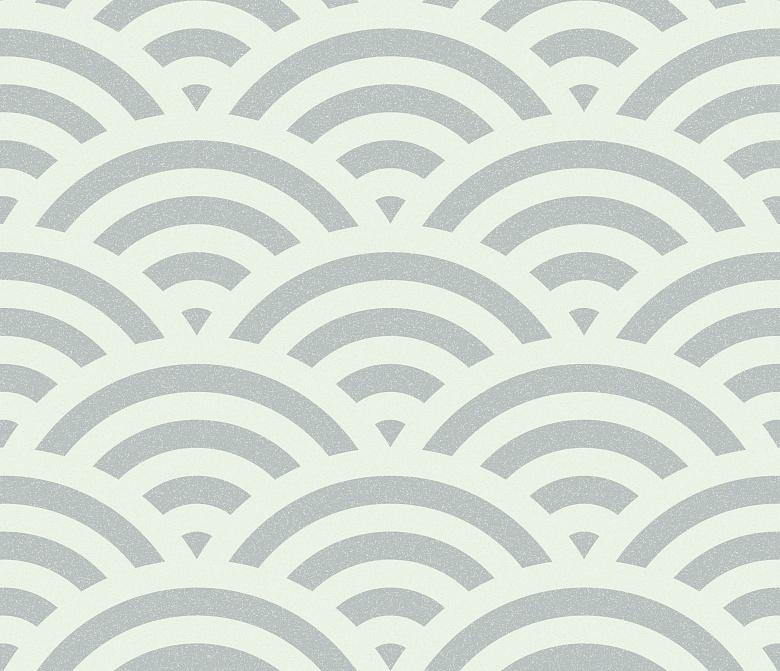 mustertapete seigaiha smoky blue tapeterie. Black Bedroom Furniture Sets. Home Design Ideas