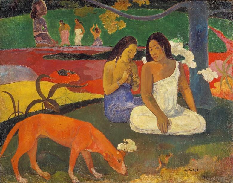 Arearea (Der rote Hund). 1892