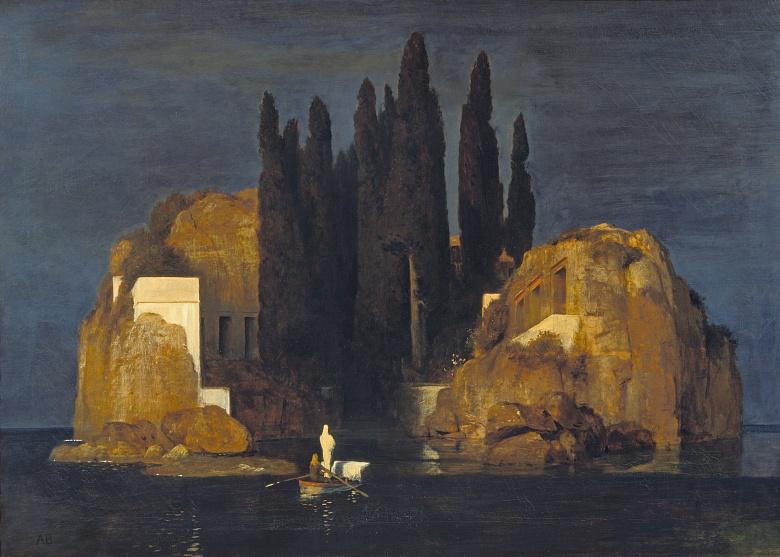 Die Toteninsel (Erste Fassung). 1880