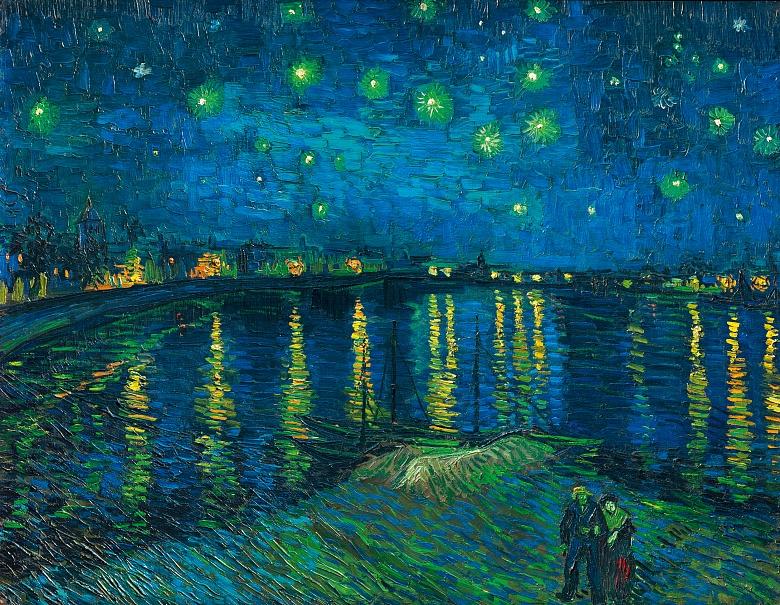 Sternennacht. 1888