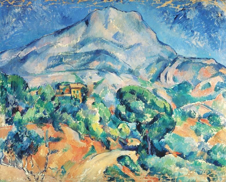 Montagne Sainte-Victoire 1896/1898