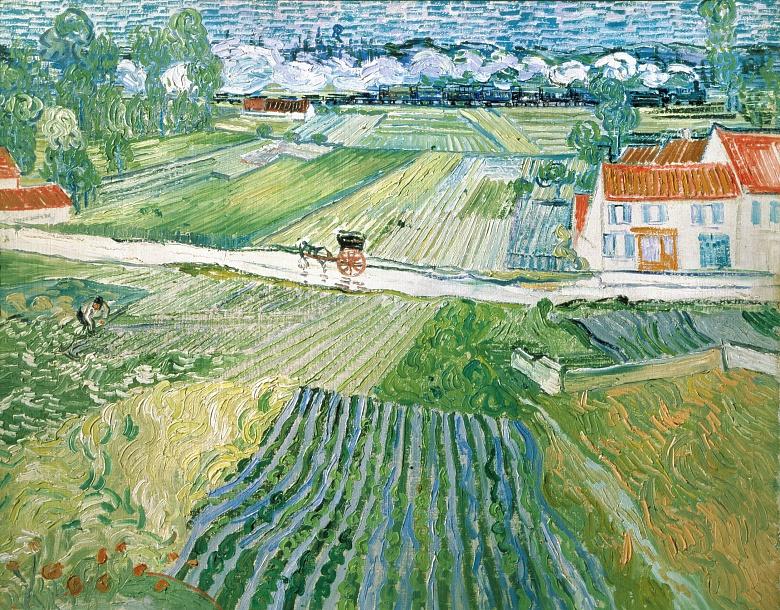 Landschaft bei Auvers nach dem Regen. 1890