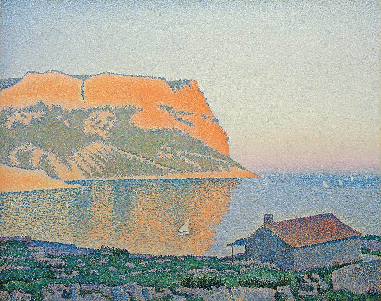 Paul Signac, Cassis, Cap Canaille. 1889