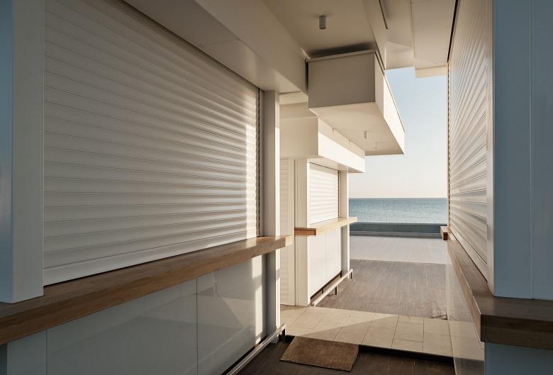 Sandhaus am Meer