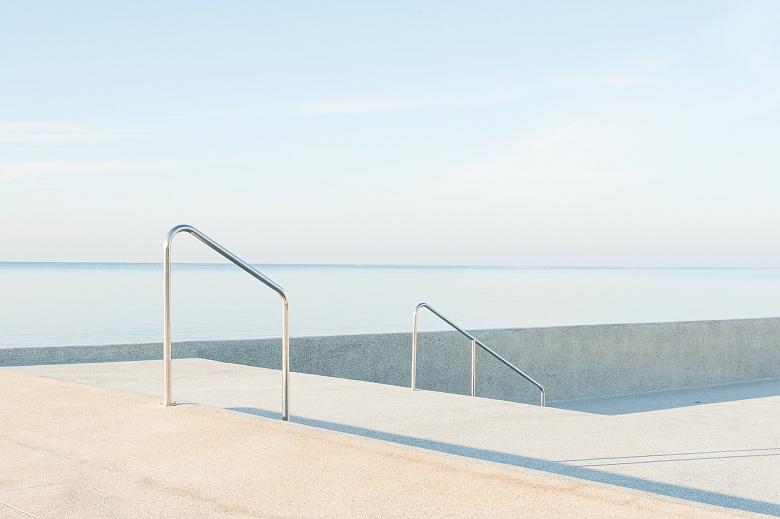Treppe am Strand