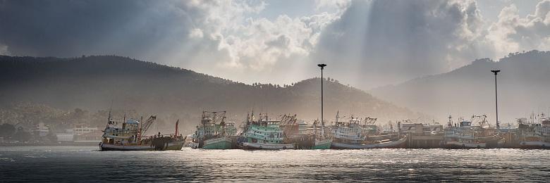 Koh Samui Harbor