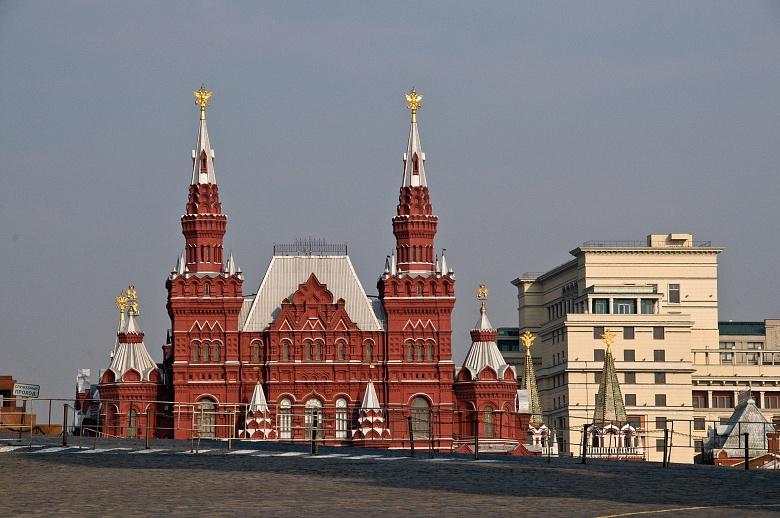 Moskau Roter Platz Historisches Museum
