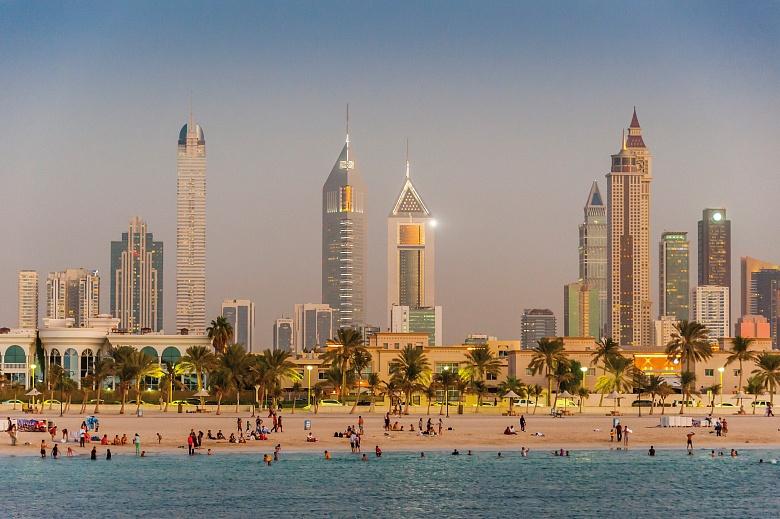 Jumeirah Beach Skyline