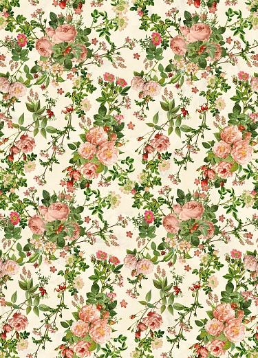 Designer tapete zarte rosen romantisch tapeterie for Tapete romantisch