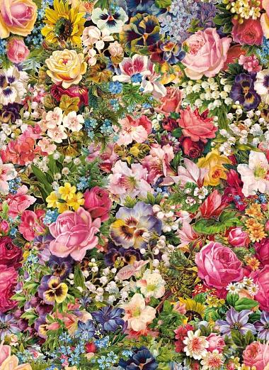 Kinder Tapeten Auf Rechnung : Designer Tapete Blumenstrau? bunt – romantisch Tapeterie