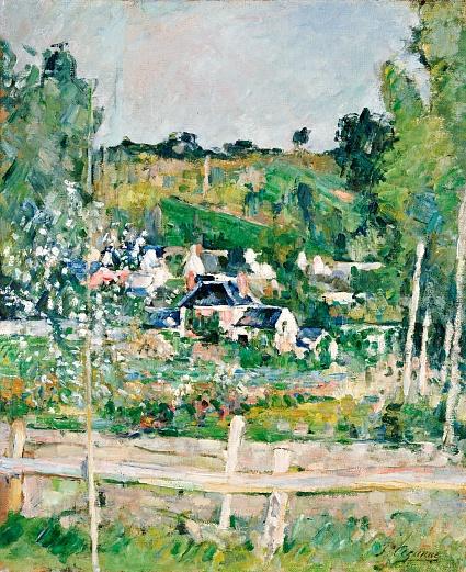 Blick auf Auvers-Sur-Oise, Der Zaun. Um 1873