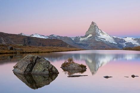 Fototapete Mit Bergmotiv   Matterhornmorning