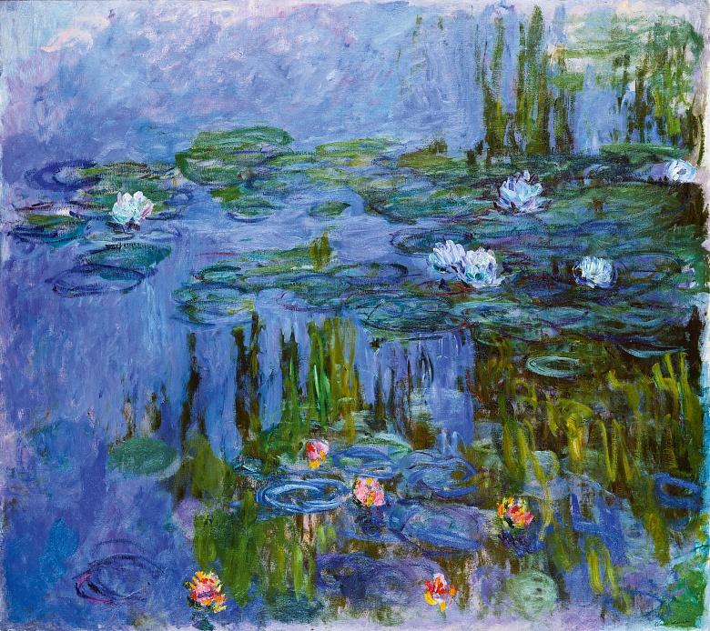 Art Wallpaper Nympheas Claude Monet Tapeterie