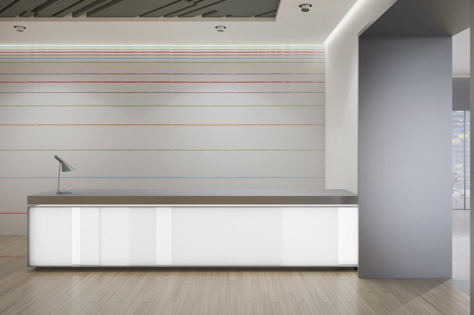Designer Tapete - Streifen 05 - Office - Christiane Elle