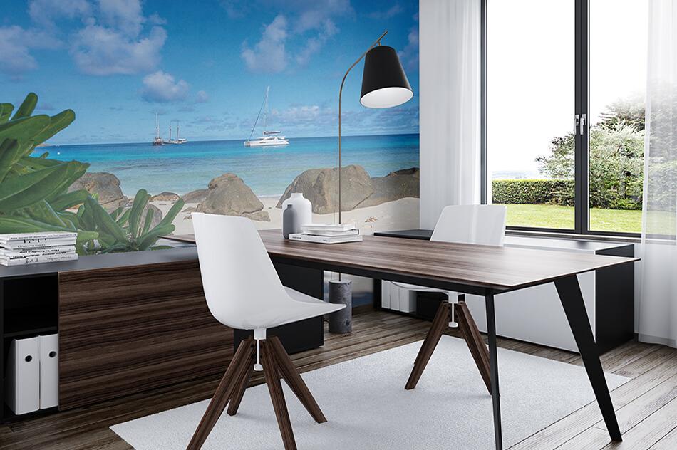 Fototapete - Mahé Inselhüpfen mit Sea Pearl Anse Major - Udo Bernhard
