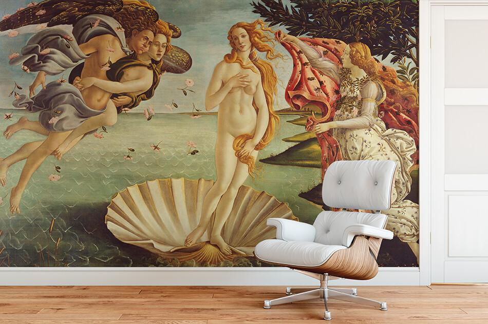 Kunst_Tapeten-Botticelli - Geburt der Venus