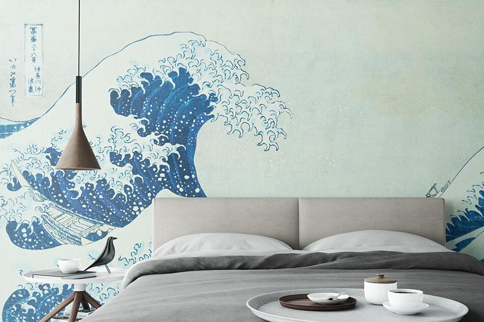 Kunsttapeten Asien Grosse Welle Von Kanagawa Artothek