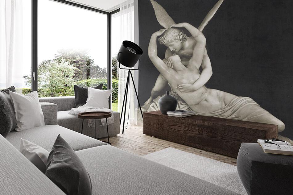 Kunst Tapete Skulpturen - Amore e Psiche - Fototeca Ando Gilardi