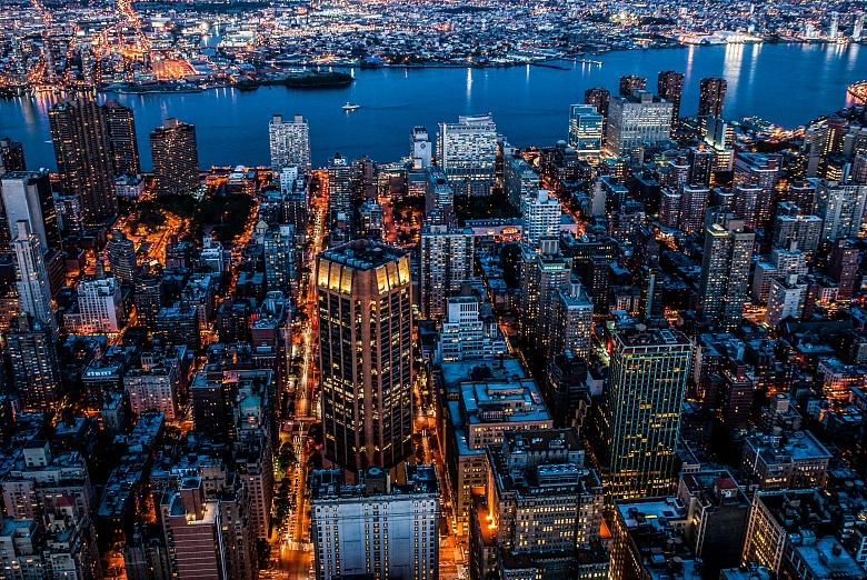 NYC sea of lights II
