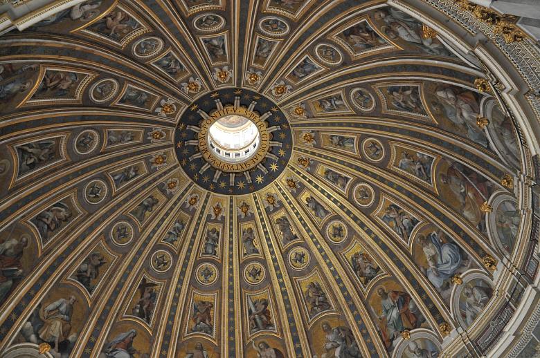 Kirchenmalerei in Rom