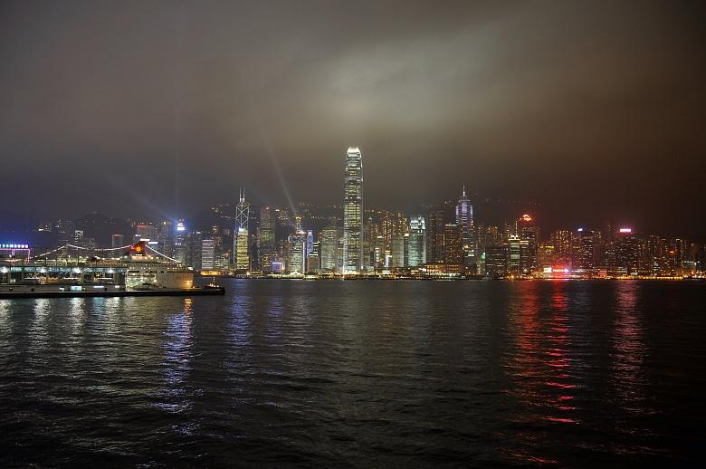 Skyline in Hongkong