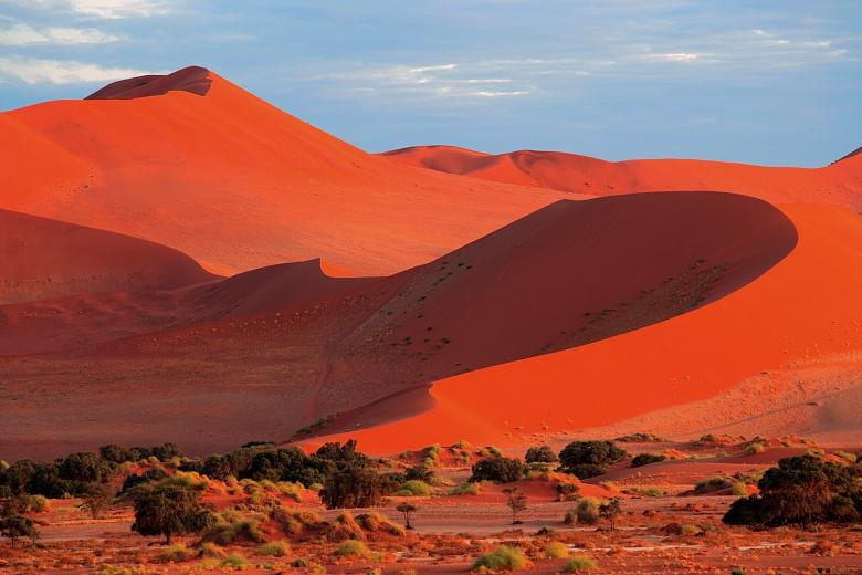 Sanddünen in Namibia