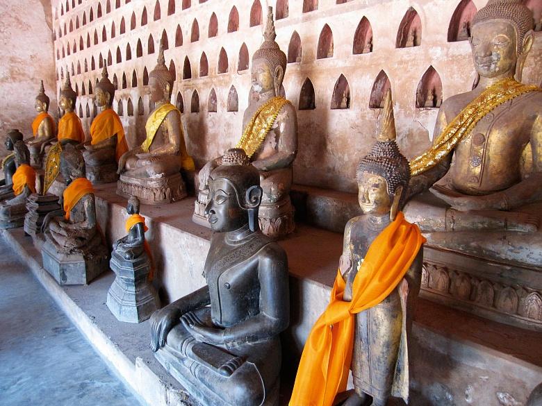 Buddhas im Vat Sisaket