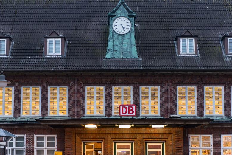 Nordfriesische Inseln Sylt Westerland Bahnhof