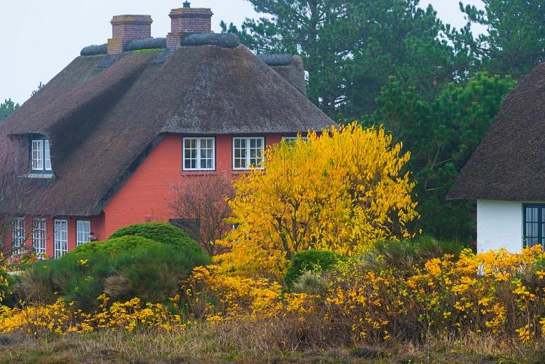 Reetdachhaus in Sylt, Schleswig-Holstein
