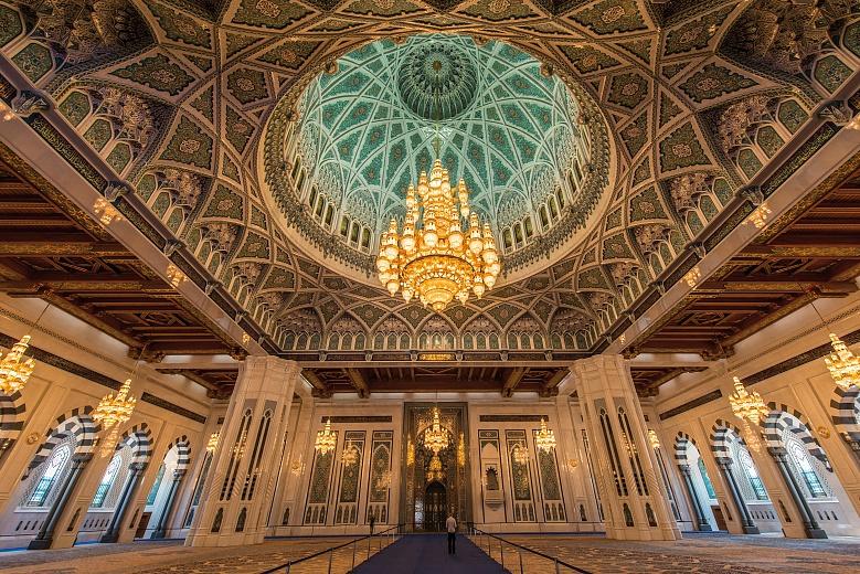 Muscat Sultan Qaboos Grand Mosque