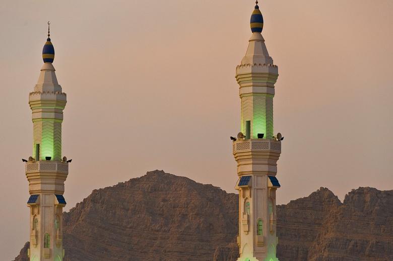 Halbinsel Musandam Khasab Sharja Moschee