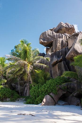 La Digue Wanderung von der Gand Anse zur Anse Cocos Gand Anse