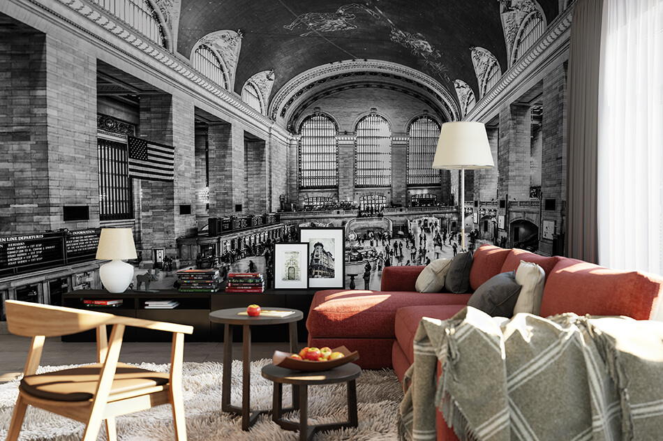 Designer Tapete - Grand Central Station - Hannes Cmarits